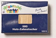 Stahlwolle · Zahnstocher