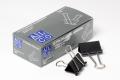 Foldback - Klammern schwarz, b= 32 mm, 12 Stück