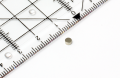 Disc magnet neodymium, silver dm 3 mm, h = 1,5 mm, N48, 24 pcs