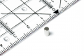 Stabmagnet Neodym, silber dm 3 mm, h =5 mm, N42, 24 Stk