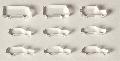 Acrylglas-Autos farblos 1:200