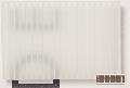 Polypropylen Stegplatte 3,0 x 250 x  500, w = 3