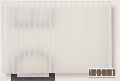 Polypropylen Stegplatte 5,0 x 250 x  500, w = 3