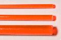Acrylglas XT Rundstab rot fluoreszierend ø = 6,0