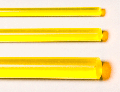 Acrylglas XT Rundstab gelb fluoreszierend ø = 4,0