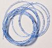 PVC Neonschnur ø = 2,0 blau fluoreszierend