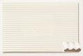 Polystyrene corrugated sheet, stamped through, s = 1,0