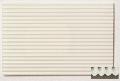 Polystyrene corrugated sheet, stamped through, s = 2,0