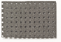 Perforated board dark grey 350 x 500