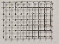 Steel wire grid spot-welded, zinc plated, mw = 6,3