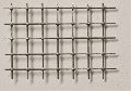 Steel wire grid spot-welded, zinc plated, mw = 8,0