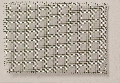 Steel wire mesh flexible, zinc plated, mw = 1,4