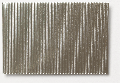 Micro-corrugated aluminium sheet, stamped through, fine