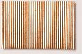 Micro-corrugated copper sheet, stamped through, fine