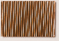 Micro-corrugated copper sheet, stamped through, coarse