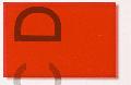 D-CX Klebefolie signalrot b = 630