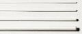 Polystyrol Rundstäbe weiß ø = 0,6