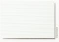 Polystyrol Strukturplatte weiß, w = 1,0  V-Rille