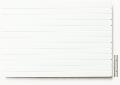 Polystyrol Strukturplatte weiß, w = 2,5  V-Rille