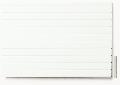 Polystyrol Strukturplatte weiß, w = 3,2  V-Rille