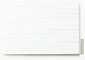Polystyrol Strukturplatte weiß, w = 4,8  V-Rille