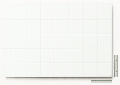 Polystyren strukturovaná deska bílá, r =  6,3 čtvercový rastr