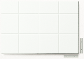 Polystyren strukturovaná deska bílá, r = 12,7 čtvercový rastr
