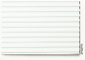 Polisztirol struktúrlemez fehér, szélesség = 3,2 trapézlemez