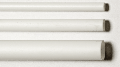 Polystyrol Rundrohr weiß ø =  6,4 / 5,0