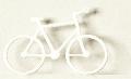 Fahrrad 1:100 weiß