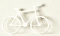 Fahrrad 1:50 weiß