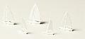Segelboote 1:500 - 1:1000, weiß