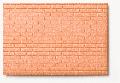 Polystyrene running bond wall red 1:50