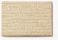 Polystyrénové zdivo z lámaného kamene béžové 1:50