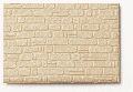 Polystyrene quarry stone wall beige 1:50