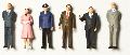 Detailed figures coloured 1:100, statesmen and -women