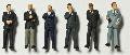 Detailed figures coloured 1:100, business men