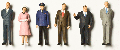 Detailed figures coloured 1:200, statesmen and -women