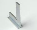 Stahlwinkel mit Anschlag 70 / 100 mm