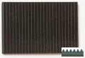 Gummi Feinriefenmatte schwarz 3,0 x 200 x 240  w = 3