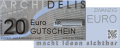 Gutschein im Wert von € 20.00