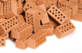 Package 32 pieces red bricks M = 1: 10