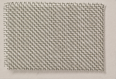 Steel wire mesh flexible, zinc plated, mw = 1,4