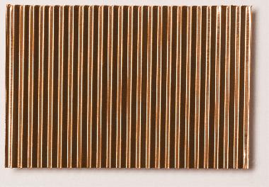 Micro Corrugated Copper Sheet Stamped Through Coarse