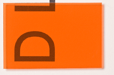 D cx klebefolie verkehrsorange b 630 online kaufen for Klebefolie transparent farbig