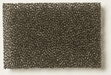 PU Schaumstoff schwarz, fein 3,0 x 300 x 400