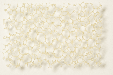 Poliuretán hab bézs, durva szerkezetű 10,0 x 300 x 400