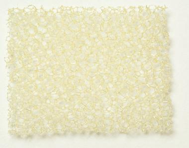PU Schaumstoff beige, mittel 3,0 x 300 x 400