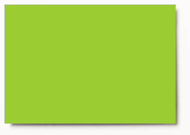Photo mounting board tropic green