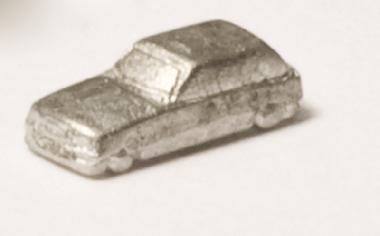 PKW Zinnguß silbrig 1:500